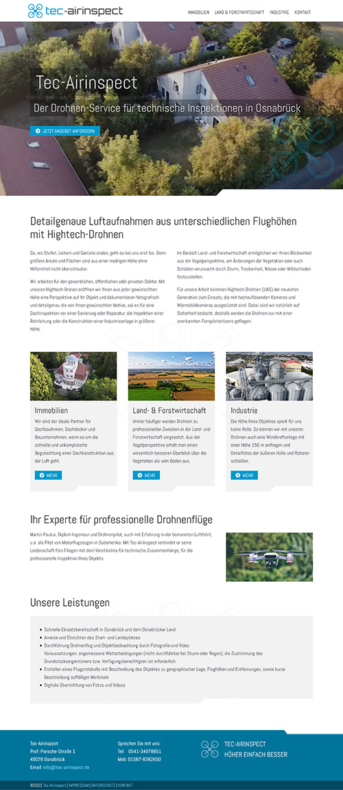 Dronenservice Tec-Airinspect